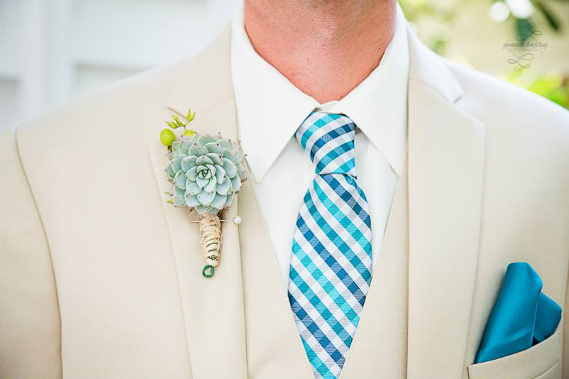 Styling Your Groom Boutineer