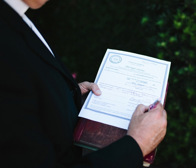 Marriage License in Beaufort County