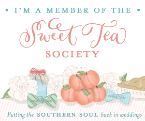 Southern Wedding Sweet Tea Society Member