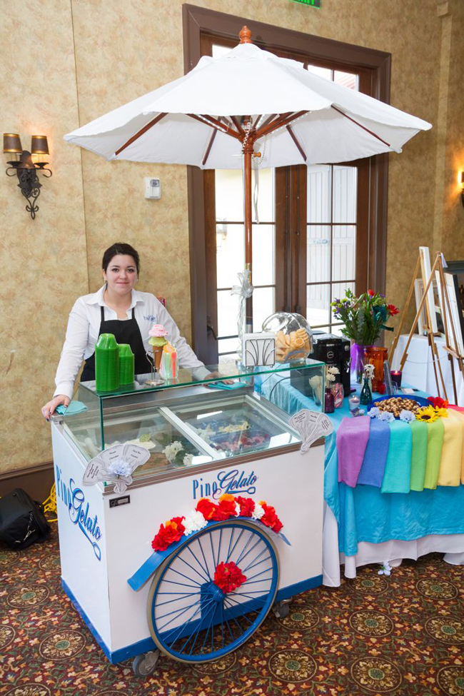 Beaufort Bride : Scope Happiness with Pino Gelato - http://lowcountrybride.com