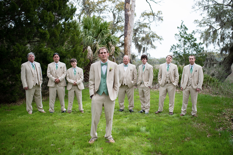 What Makes the Perfect Groomsmen | Lowcountry Bride