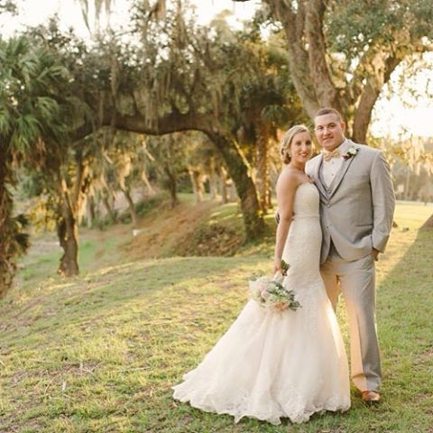 Lowcountry Wedding Feature httpowlyWdpU307MVUj Bride amp Groom Conor and Nadinehellip