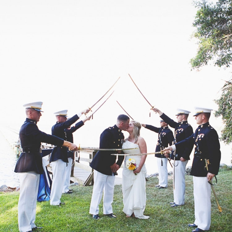 Military Wedding Inspiration | Lowcountry Bride