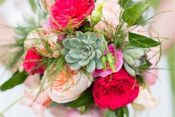 Pretty Bouquet Florals | Lowcountry Bride