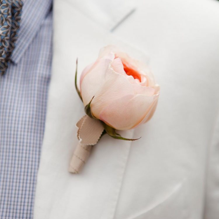 How to Wear a Boutonnière | Lowcountry Bride