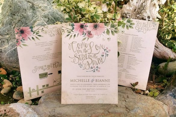 Wedding Invitations to Adore | Lowcountry Bride