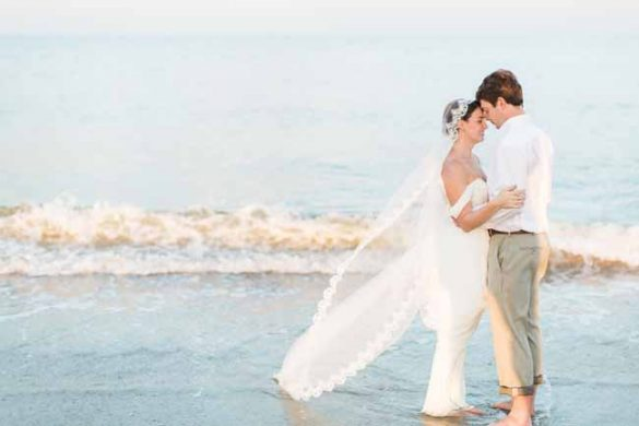 Sunset Wedding at Tybee | Lowcountry Bride