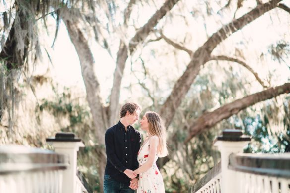 Magnolia Plantation Engagement | Matheson & Furrow | Lowcountry Bride