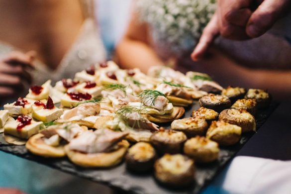 Delicious Wedding Foods | Lowcountry Bride